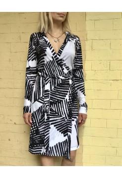Платье на запах от Calvin Klein