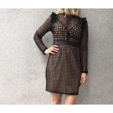 Платье сетка от In Vogue