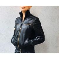 Куртка кожаная от Philipp Plein