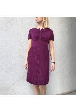 Шелковое платье от Burberry