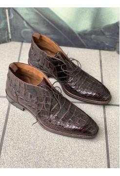 Туфли крокодил